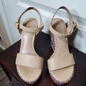Aldo,Tan High heels Wedges